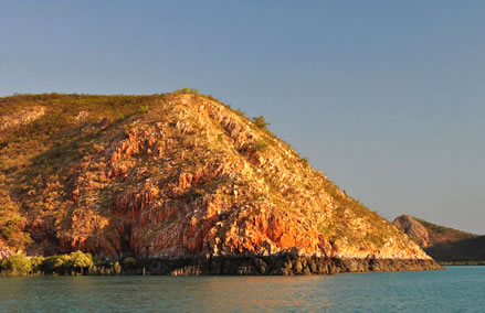 The Buccaneer Archipelago is a collection of more than 1,000 islands stretching south
